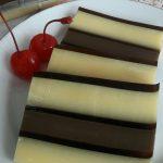 Puding Lapis coklat