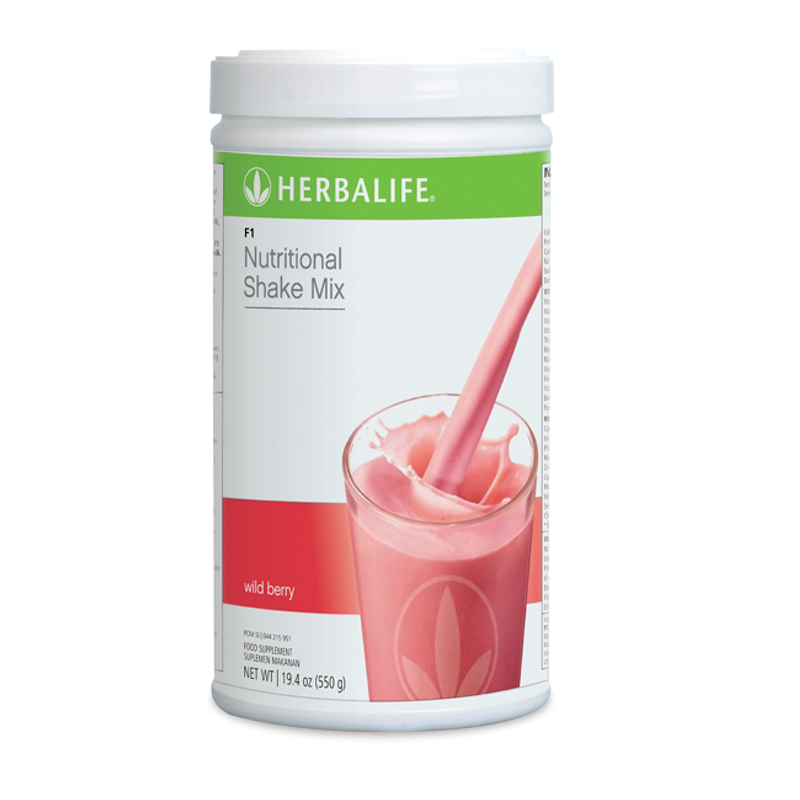 Formula 1 - Wild Berry Nutritional Shake Mix Wild Berry Canister 550 g