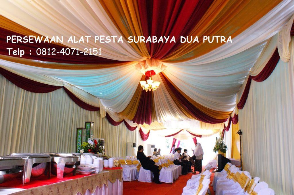 Sewa Tenda & Alat-alat Pernikahan / Acara Surabaya Timur