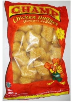 Pabrik dan Distributor Sosis charmp chiken nugget